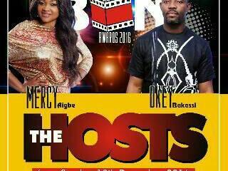 Mercy Aigbe, Okey Bakassi To Anchor 2016 BON Awards