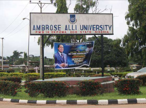 Protest In Ambrose Alli University Over Fee Hike