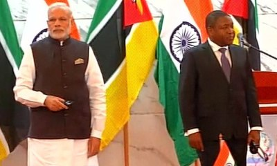 India Helps Mozambique With $10m Grant