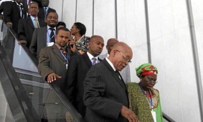 Zuma In Ethiopia For AU Committee On Libya