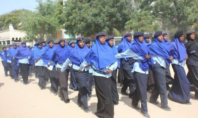 6,800 Somali Cops To Receive Stipends From EU