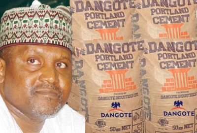 Dangote Cement Grows Revenue by 9.5% in 2016