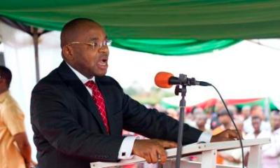 Gov. Udom Escapes Death As Church Building Collapses