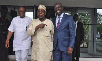 Obasanjo Lauds Obaseki's Economic Policies