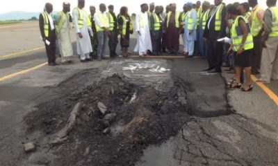 Abuja Runway Repairs to Take 6 Months, Not 6 Weeks—Minister