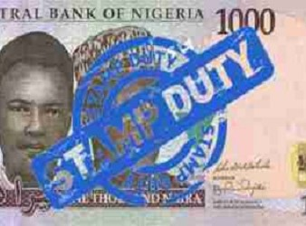CBN bank stamp duty