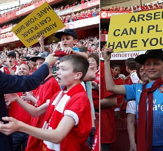 Father Rejects £1,000 Offered for Arsene Wenger's Tie Gift to Son