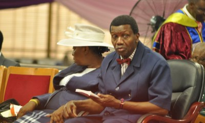 Adeboye Begs National Assembly to Pass 2018 Budget