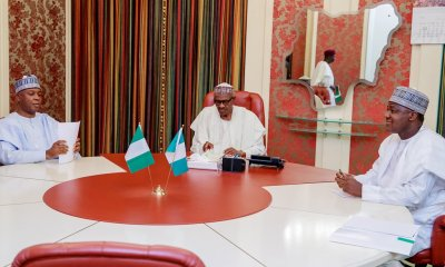 Buhari Meets NASS Leadership Over 2018 Budget, Dino, IGP