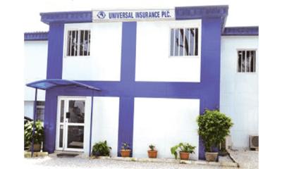 Universal Insurance shares