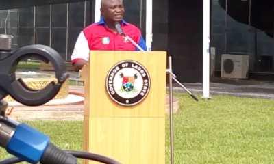 Ambode Dares Tinubu, Says Sanwo-Olu not fit for Governor