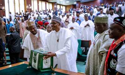 buhari presents 2019 budget1