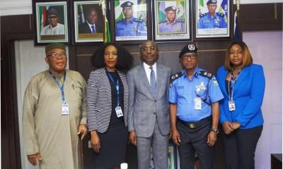PHOTO NEWS: Keystone Bank Executives Visit Lagos Police Commissioner