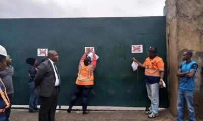 Lagos Shuts Down Chinese Firm Over Safety Issues