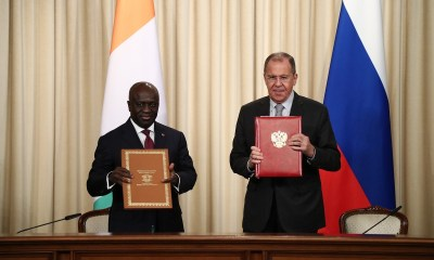 Russia, Côte d'Ivoire Agree to Elevate Bilateral Relations