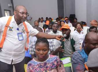 LAWMA Trains Sweepers' Supervisors