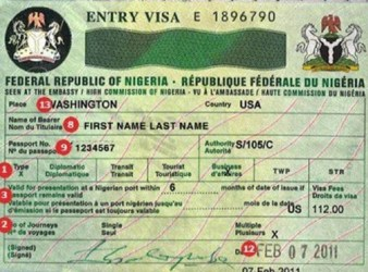 visas at lagos airport