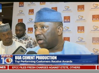 BUA Cement share price