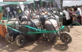 Wheelbarrow Empowerment Scheme in Enugu
