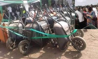 Wheelbarrow Empowerment Scheme in Enugu
