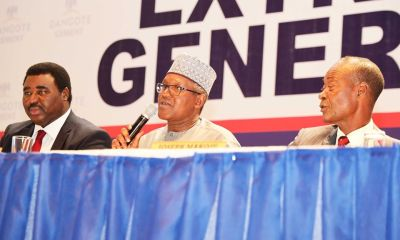 dangote cement EGM share buy-back