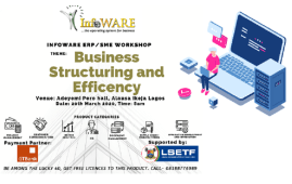 InfoWARE ERP Workshop 2020