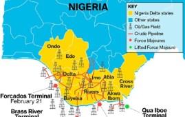 Nigeria's brass river qua iboe