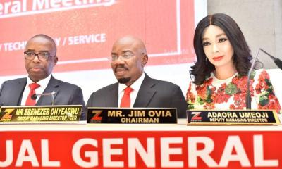 Jim Ovia Zenith Bank AGM