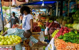 Lagos food markets