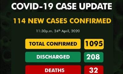 COVID-19 Cases 1095