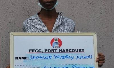 Ikogwe Mercy Nkechi EFCC