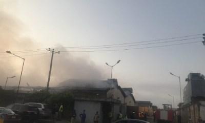 Guinness warehouse fire