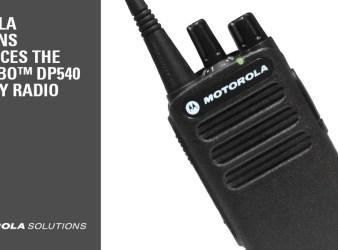 Motorola MOTOTRBO™ DP540