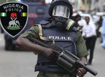 Nigeria Police SWAT team