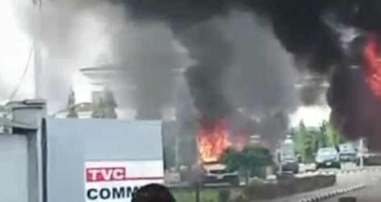 TVC Burn