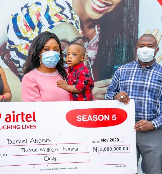 Daniel Akani Airtel Touching Lives