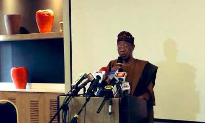 Lai Mohammed briefing