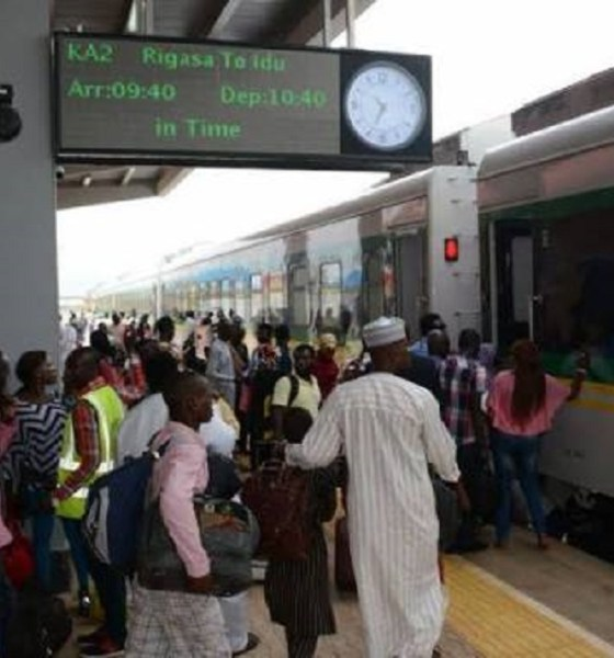 Railway ticket sale