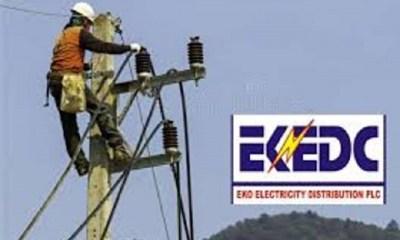 EKEDC Electricity Poles