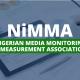 Nigerian Media Monitoring and Measurement Association NiMMA