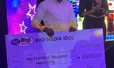 Funsho Arogundade Bigi Media Idol