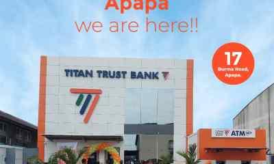 Titan Trust Bank Apapa