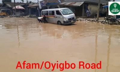 Oyigbo-Afam Road
