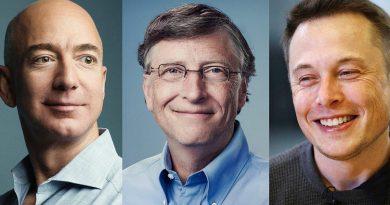 Musk, Bezos, Gates, Jack Ma: 4 διαφορετικές οπτικές για την πανδημία