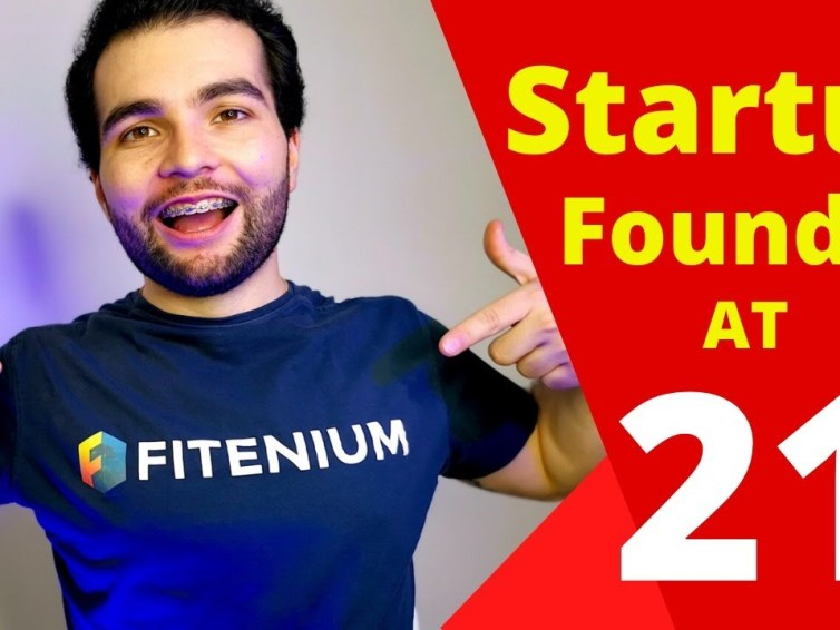 How to start a tech STARTUP at 21 (My Fitenium Story)