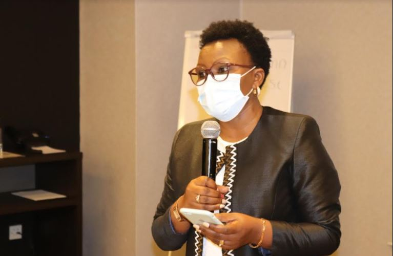 ChildFund Country Director Mrs Alice Anukur