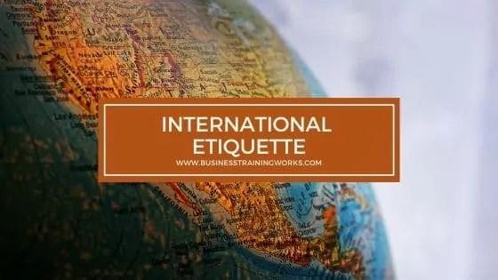 International Etiquette Training