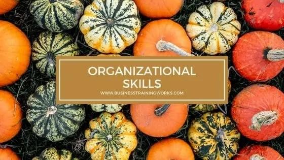 Organizational Skills Training