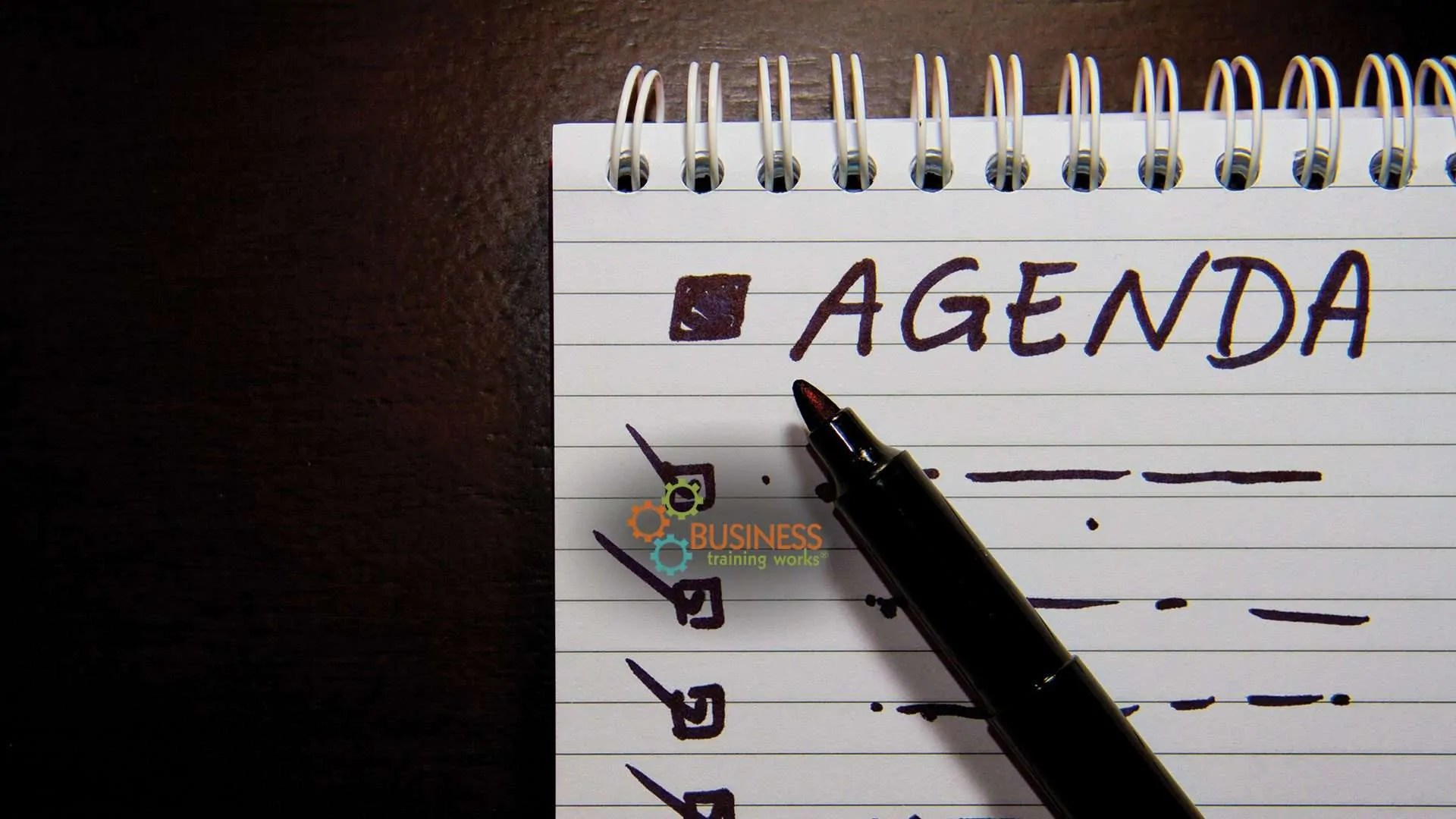 Meeting Management Training