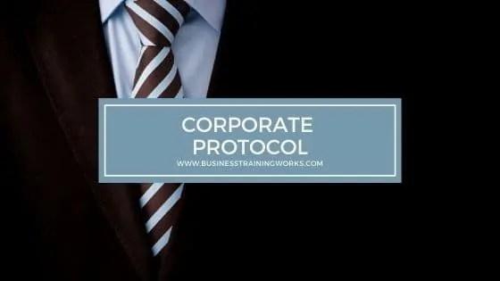 Corporate Protocol Training